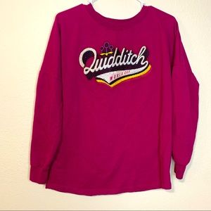Harry Potter Quidditch World Cup Long Sleeve Small